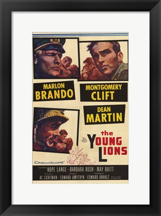 Framed Young Lions Print