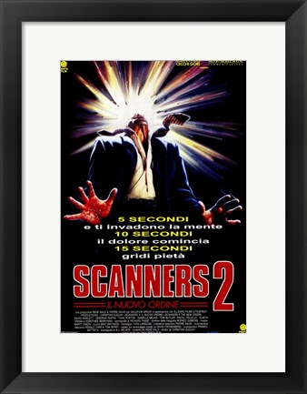 Framed Scanners 2: the New Order Print