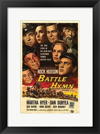 Framed Battle Hymn Print