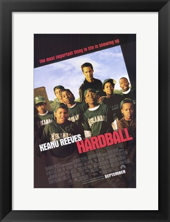 Framed Hardball Print