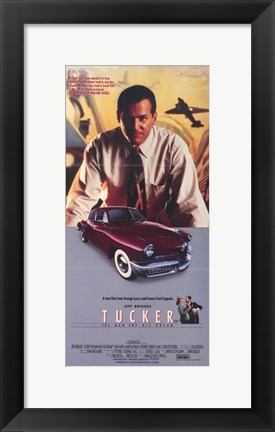 Framed Tucker: the Man and His Dream All-American Print