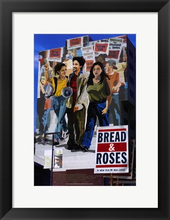 Framed Bread and Roses Print