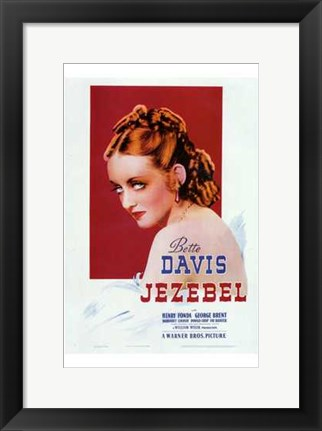 Framed Jezebel - Woman Print