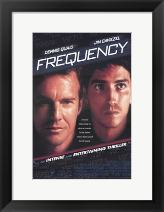Framed Frequency Print