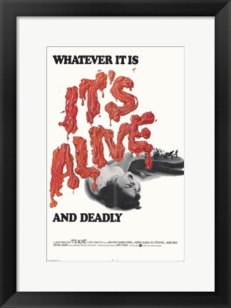 Framed It's Alive Print