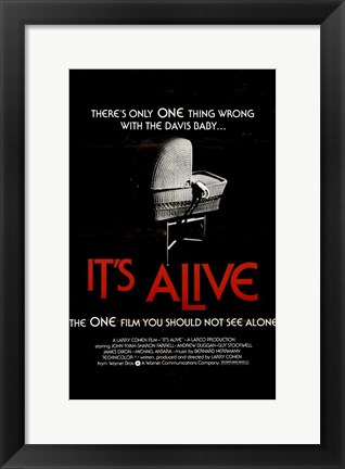 Framed It's Alive By Larry Cohen Print