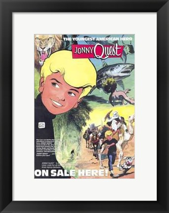 Framed Jonny Quest (Comic) Print