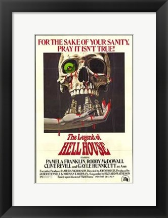 Framed Legend of Hell House Print