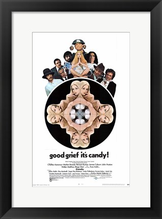 Framed Candy Ewa Aulin Print