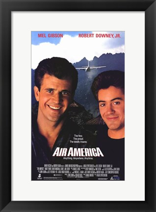Framed Air America Print