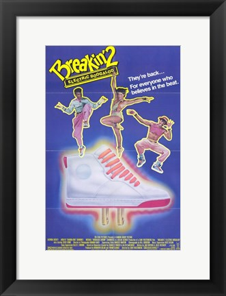 Framed Breakin 2 Electric Boogaloo Print