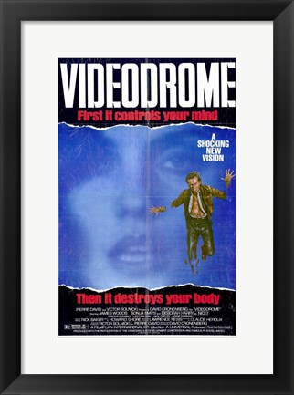 Framed Videodrome Pierre David Print