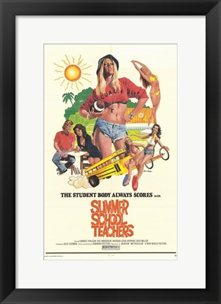 Framed Summer School Teachers Print