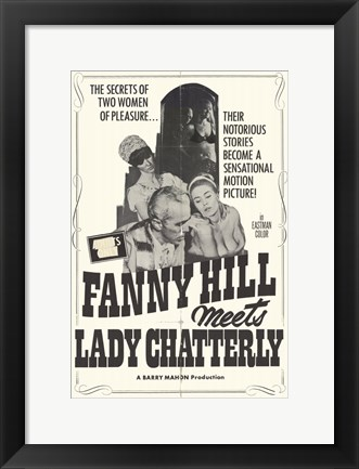 Framed Fanny Hill Meets Lady Chatterly Print