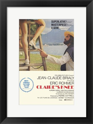 Framed Claire's Knee Print
