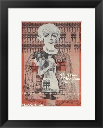 Framed Prime of Miss Jean Brodie Print