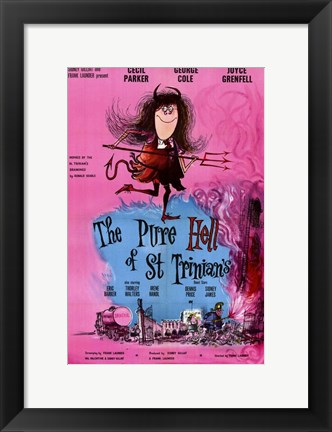 Framed Pure Hell of St Trinian's Print