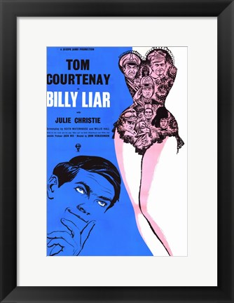 Framed Billy Liar Print