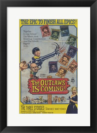 Framed Outlaws is Coming Print