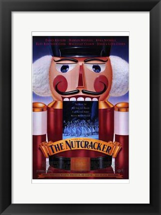 Framed Nutcracker Print