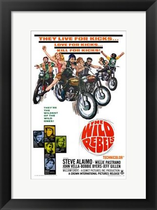 Framed Wild Rebels Print