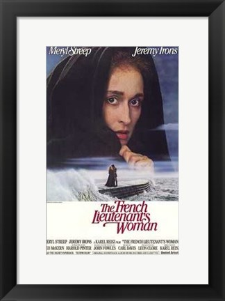 Framed French Lieutenant's Woman Print