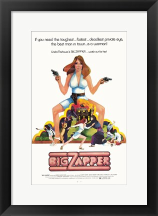 Framed Big Zapper Print