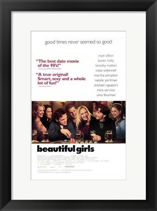 Framed Beautiful Girls Print