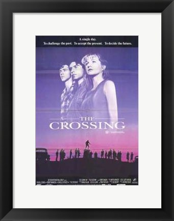 Framed Crossing Print
