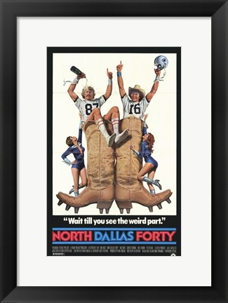 Framed North Dallas Forty Print