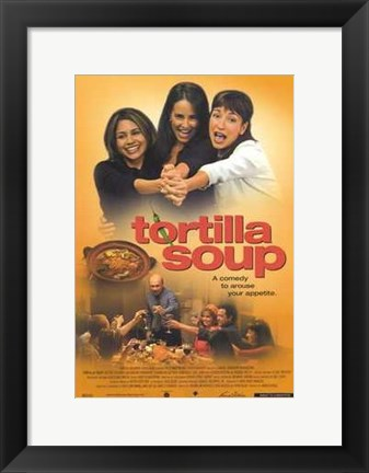 Framed Tortilla Soup Print