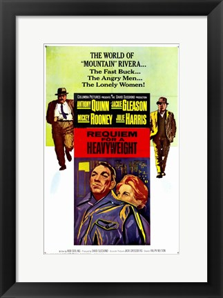 Framed Requiem for a Heavyweight By Rod Serling Print