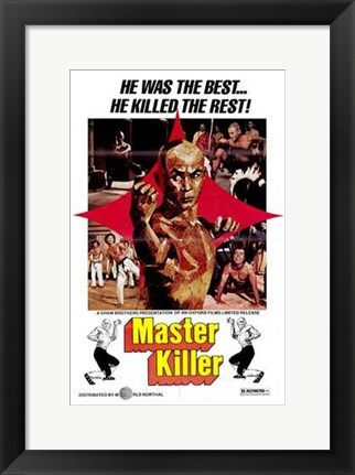 Framed Master Killer Print