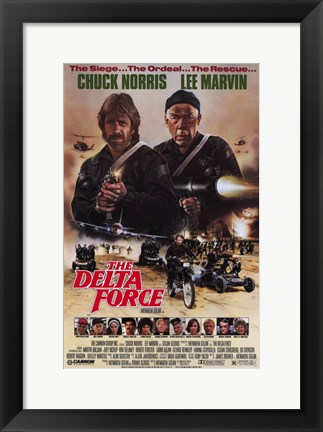 Framed Delta Force Print