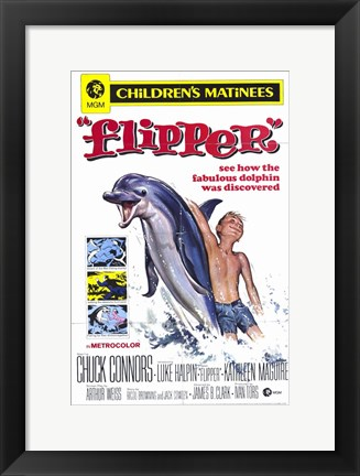 Framed Flipper Print