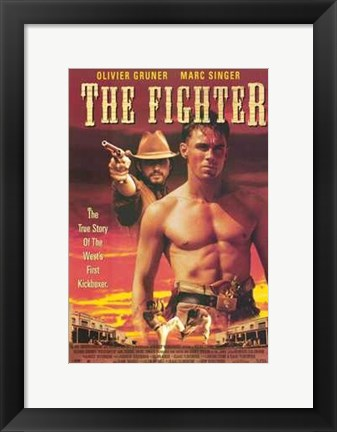 Framed Fighter Print