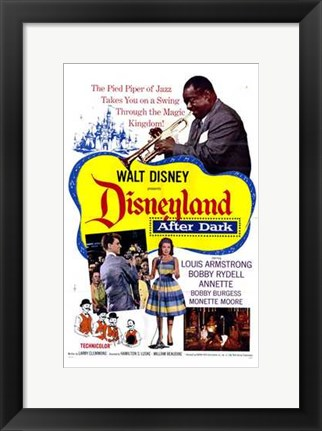 Framed Disneyland After Dark Print