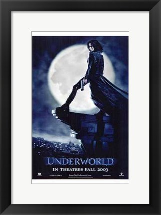 Framed Underworld, c.2003 - style A Print