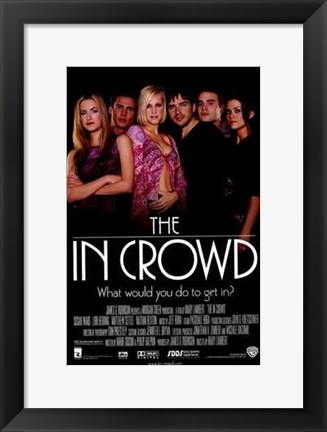 Framed in Crowd Print