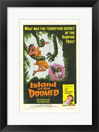 Framed Island of the Doomed Print