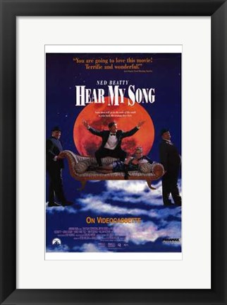 Framed Hear My Song Print