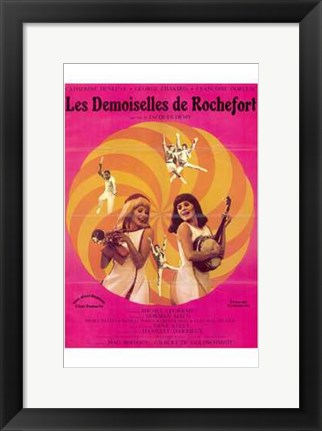 Framed Young Girls of Rochefort Print