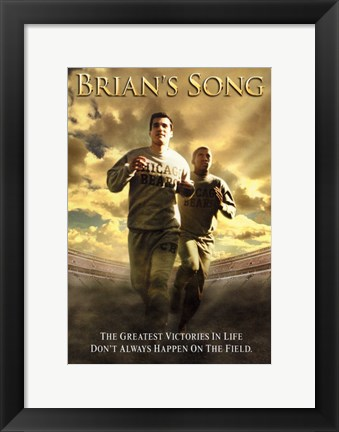Framed Brian's Song Print