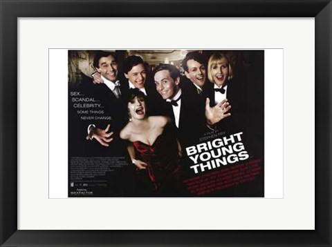 Framed Bright Young Things Print