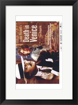 Framed Death in Venice Film Print
