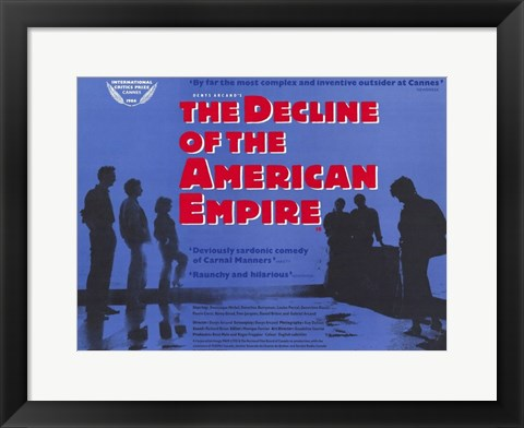 Framed Decline of the American Empire Print