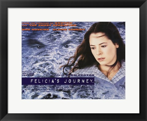 Framed Felicia's Journey Print