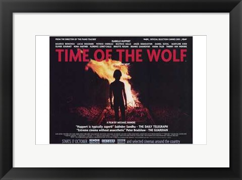 Framed Time of the Wolf Print