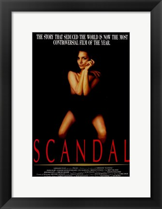 Framed Scandal Print