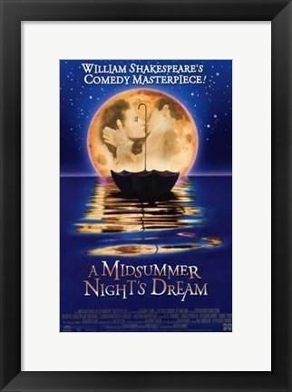 Framed Midsummer Night's Dream Print